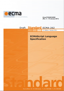 ECMASCript 5.1 Specification